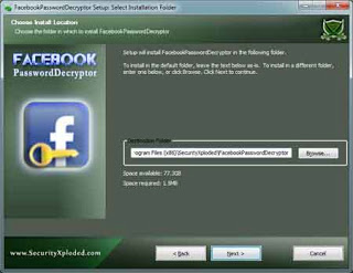 Facebook Password Decryptor ������ �������